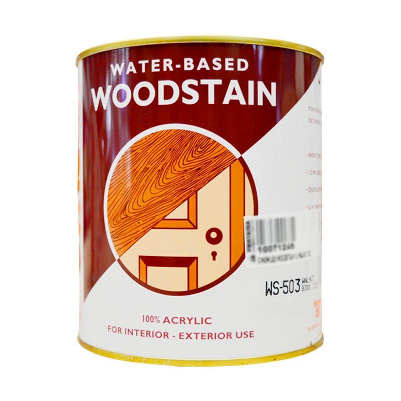 Mowilex Woodstain 1L Walnut 503 Cat Acrylic
