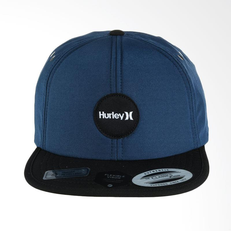 Hurley Pacific Hat Topi Pria - Space Blue [MHA0008380_4JD]