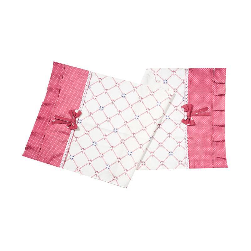 Tren-D-Home QS01 Tutup Kulkas - Pink [130 x 55 cm]