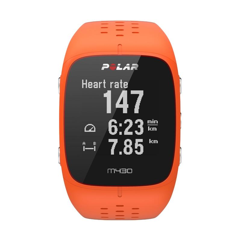 Polar M430 Smartwatch - Orange - 25956680,337_25956680,4248000,blibli.com,Polar-M430-Smartwatch-Orange-337_25956680,Polar M430 Smartwatch - Orange
