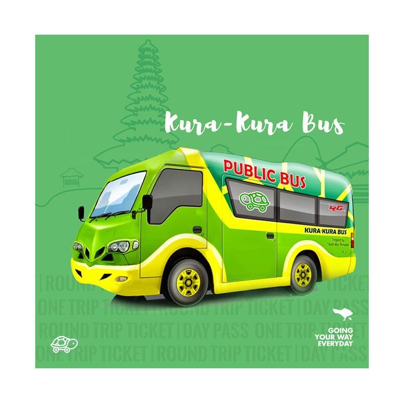 harga Kura Kura Bus Bali Indonesia Tiket Trasnportasi Darat [7 Day Pass] Blibli.com
