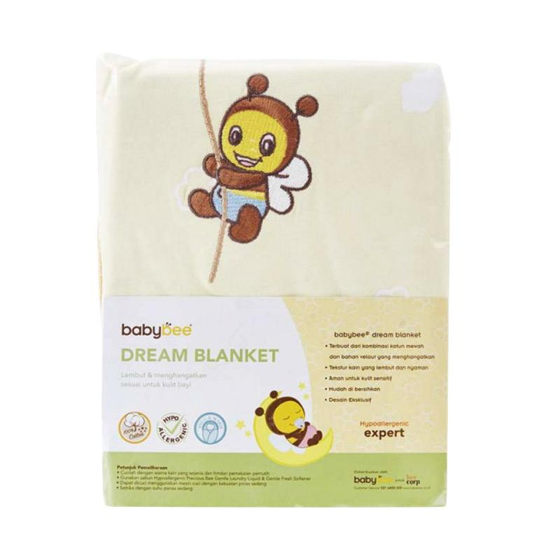 Babybee Dream Blanket Selimut Bayi - Printed Yellow