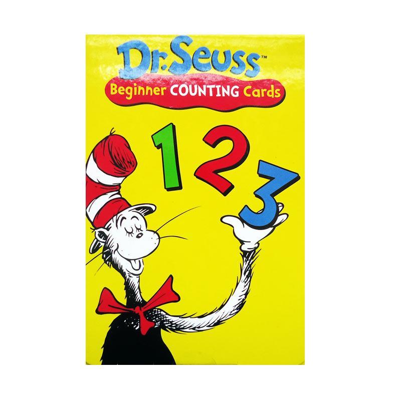 Genius Dr. Seuss Beginner Counting Cards 123 Buku Edukasi Anak