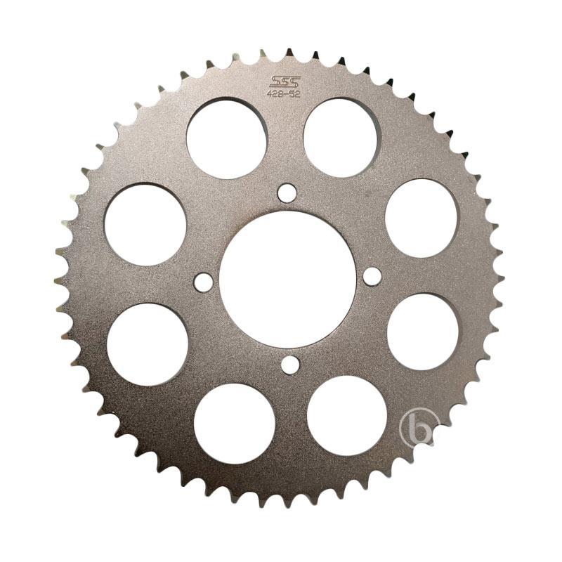 harga SSS Gear Belakang Motor for Yamaha RX King - Silver [428-52] Blibli.com