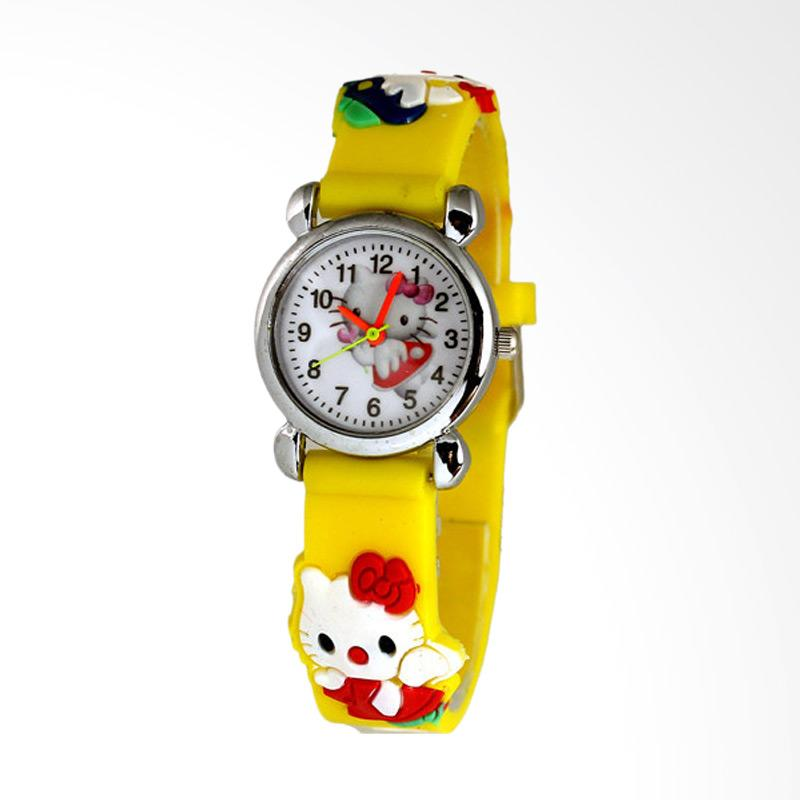 Ormano Jam Tangan Anak Hitam Leather Strap Fun Hello Kitty Girl Source · Harga Hello Kitty