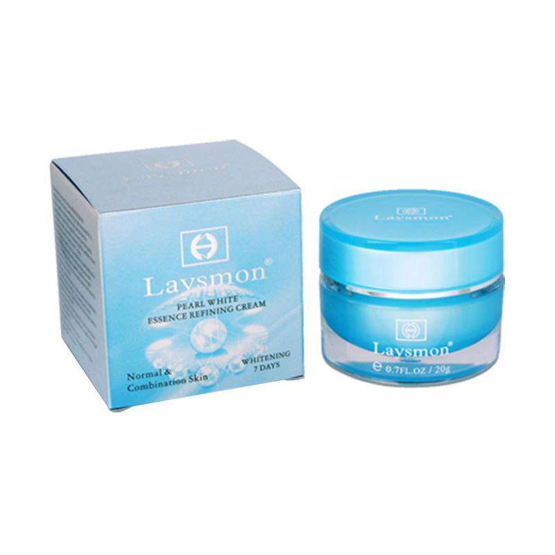 Laysmon Pearl White Essence Refining Cream [20 g]
