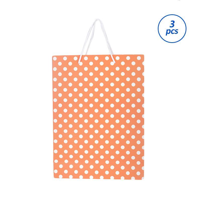 Karisma 740557 Kemeja Bullet Shopping Bag - Orange [3 pcs]