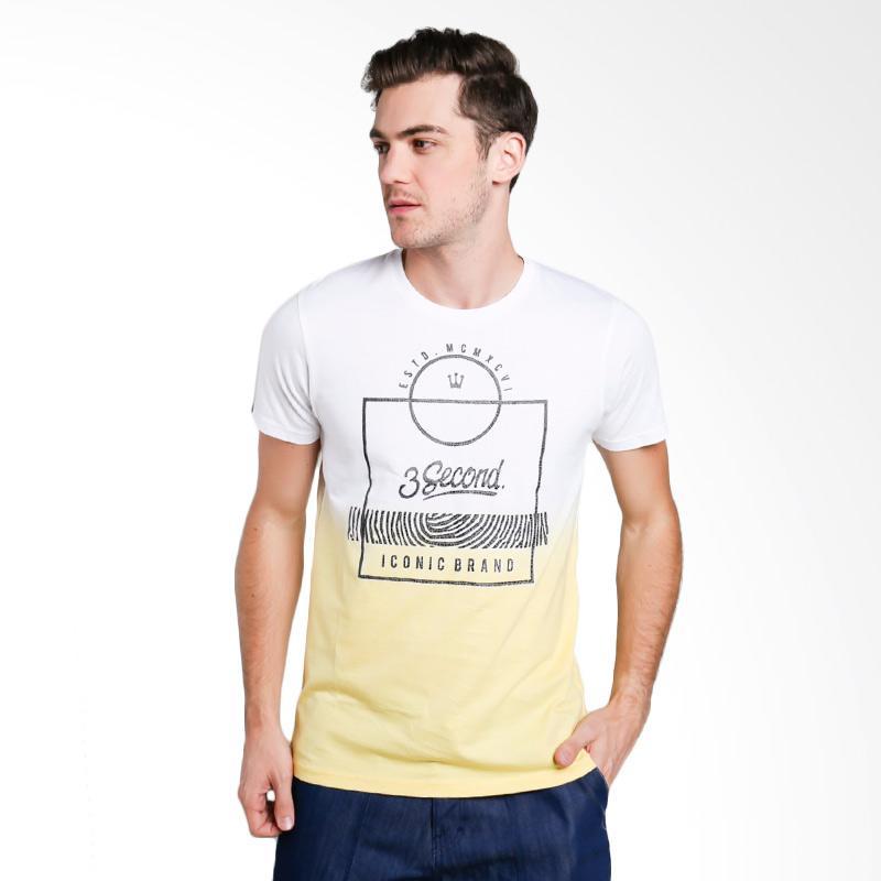 3SECOND 2912 Men T-shirt - White [129121712]