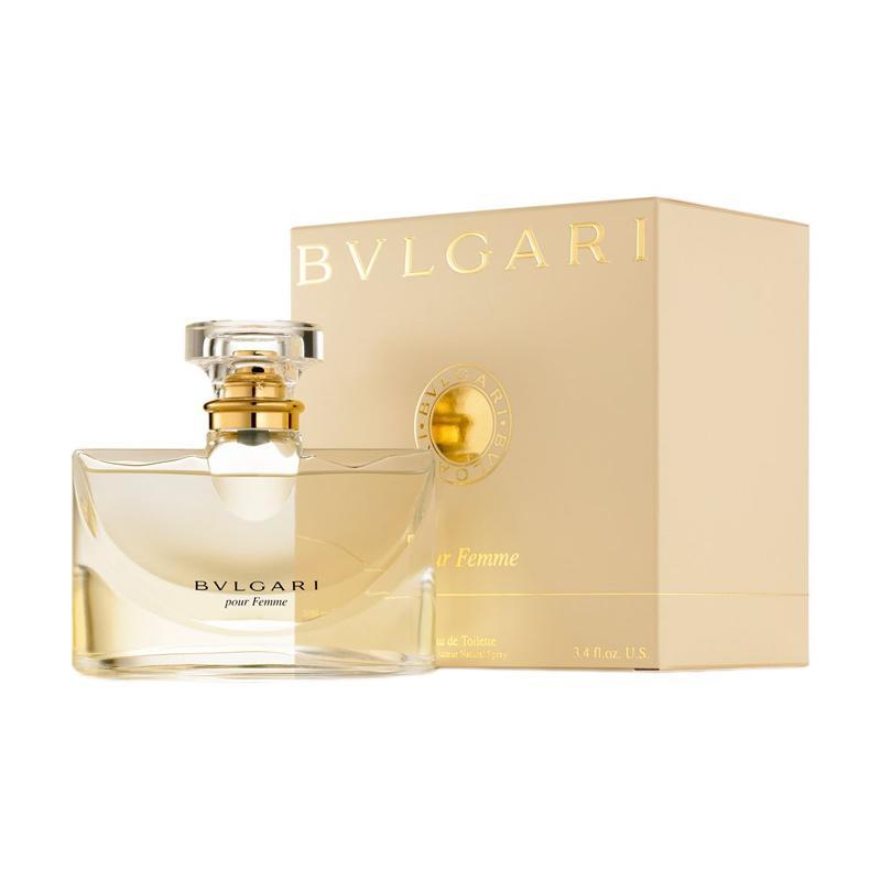 Bvlgari Pour Femme Eau de Parfum Wanita [100 mL]