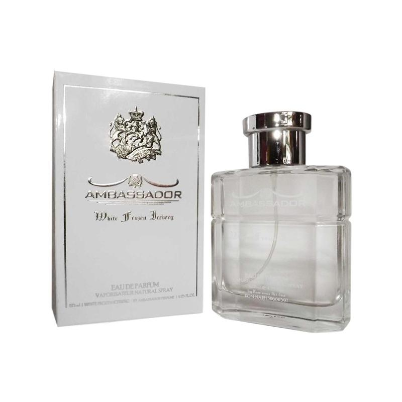 Ambassador White Frozen Original EDP Parfum Pria [125 mL]