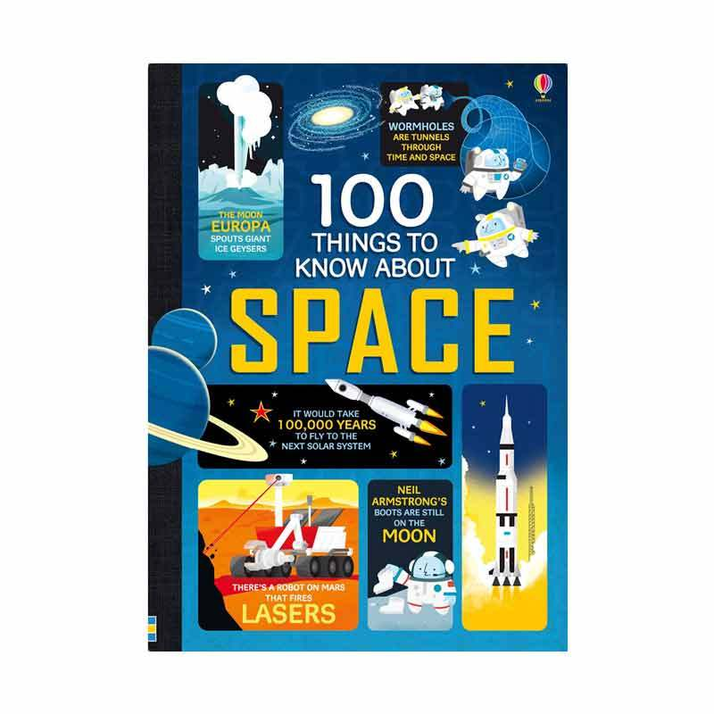 Usborne Books 100 Things To Know About Space Buku Edukasi Anak