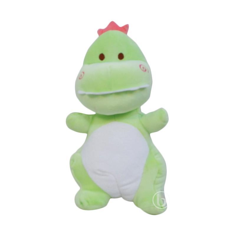 Istana Boneka Dino Soft - Green [13 Inch]