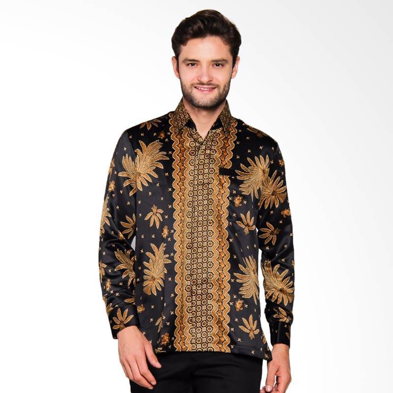 Adiwangsa Model Baju Slim Fit Kemeja Batik Modern Pria [027]
