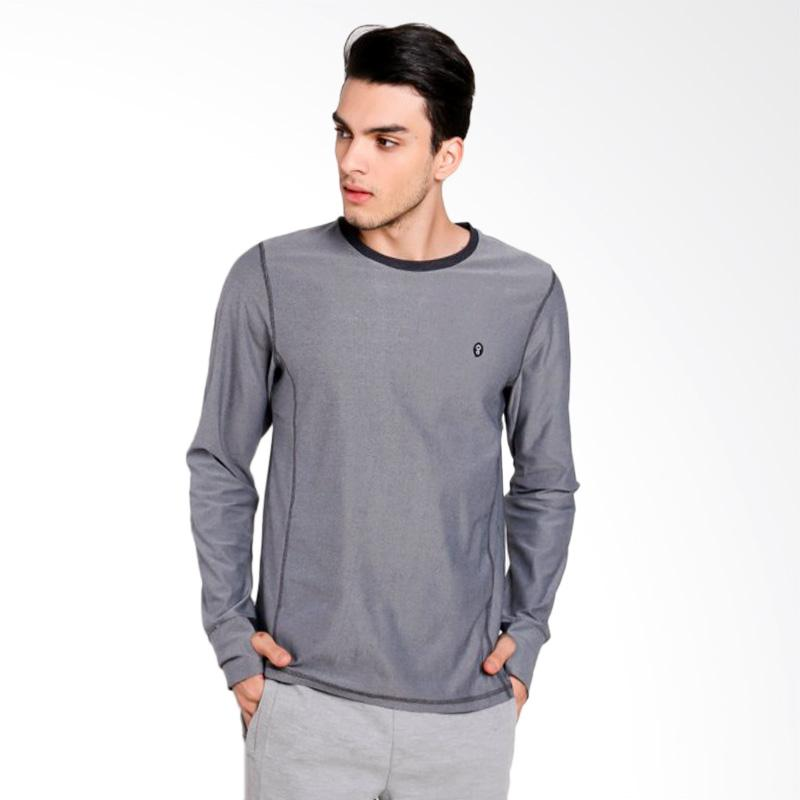 Greenlight Men 7612 T-shirt Pria - Grey