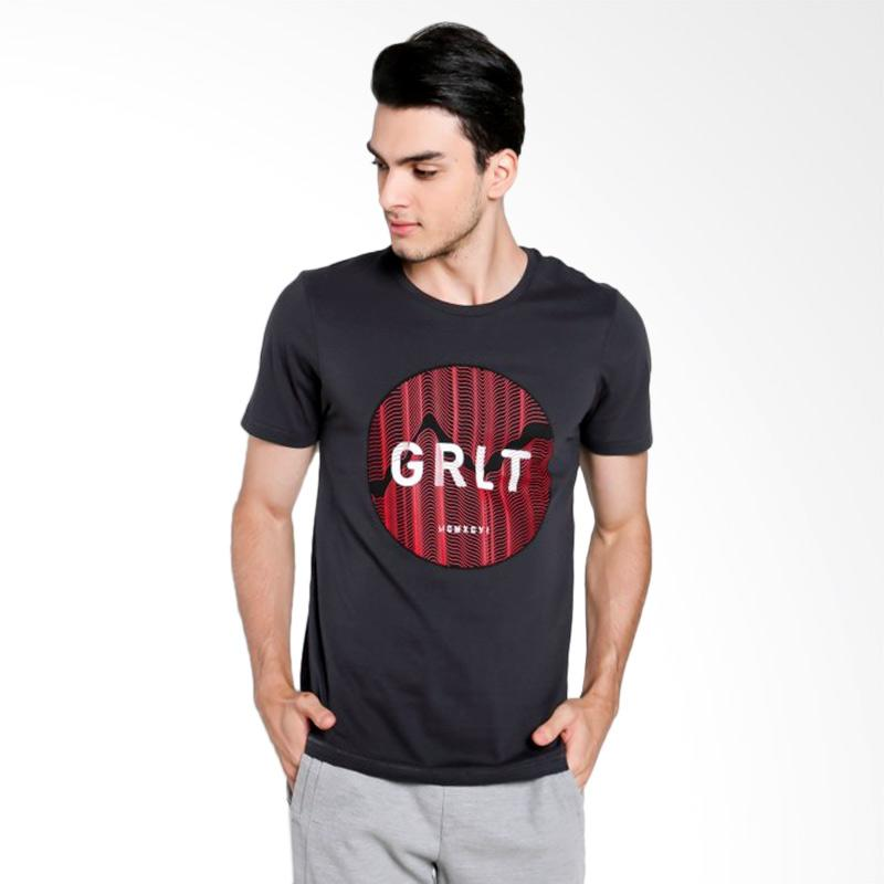 Greenlight Men 7112 T-shirt Pria - Grey [271121712]