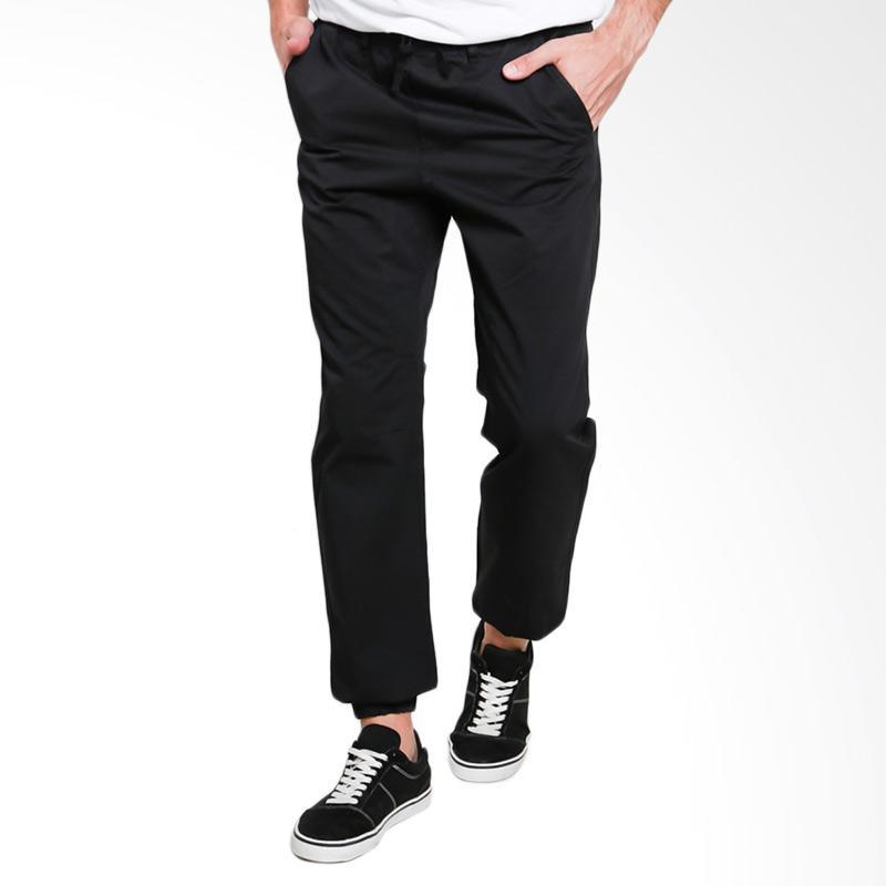 3SECOND 0811 Men Long Pants Celana Pria - Black