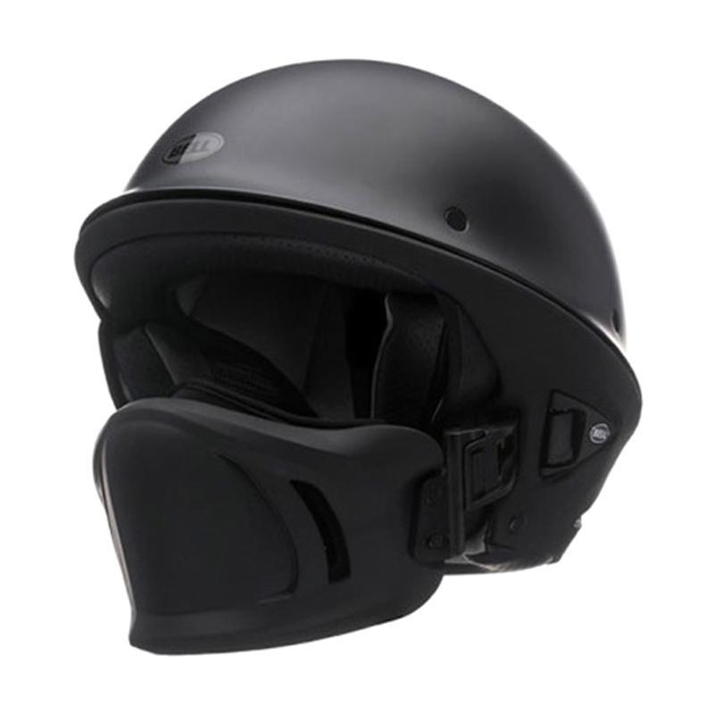 Rogue Helmet DOT Approved Motorcycle Helmet for Men Half Helmet Matte Grey XL