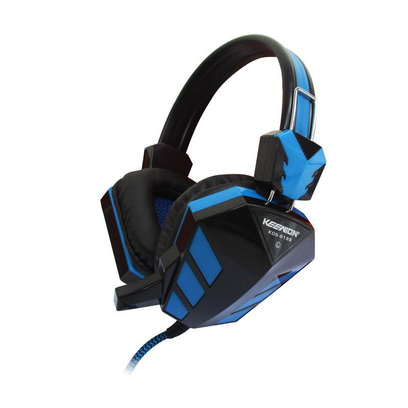 Keenion KOS-8199 Gaming Headset - Biru