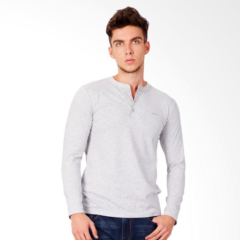 SIMPAPLY's Gramedis Men's T-shirt Pria - Light Grey