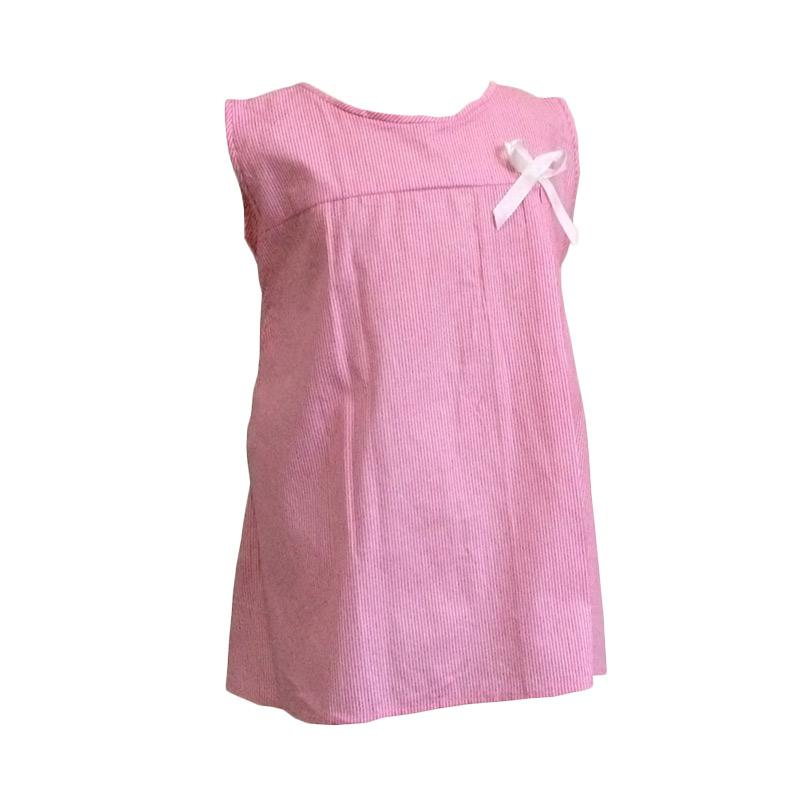 Kirana Kids Wear Nadia Line Dress Anak - Pink