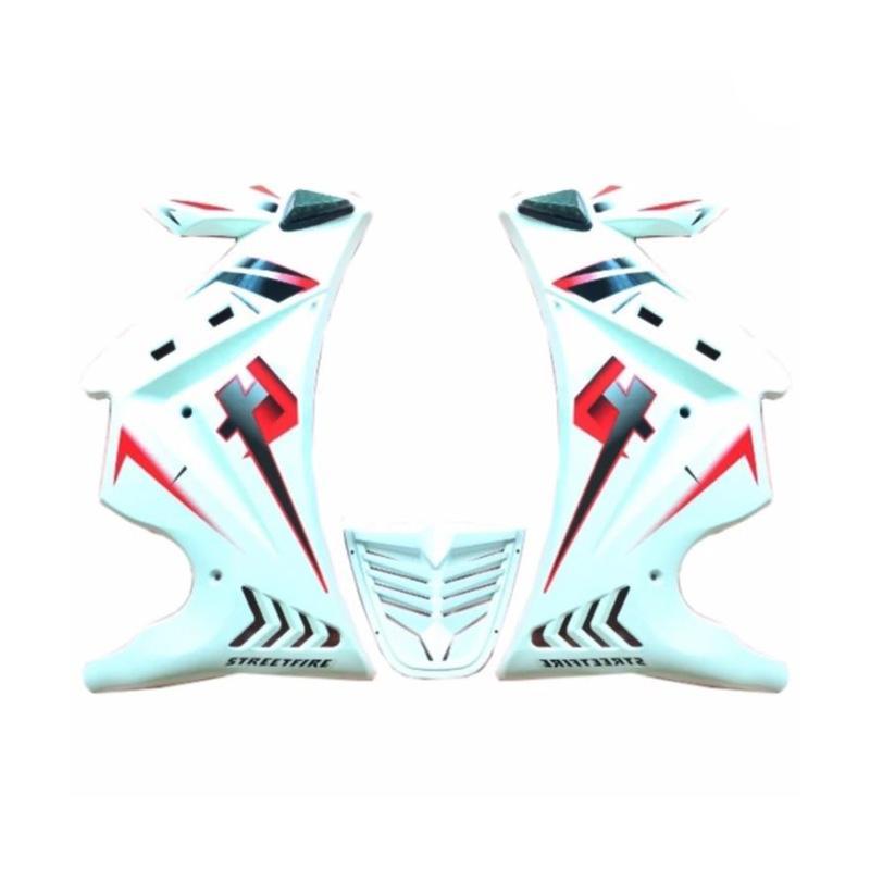 harga Raja Motor Sayap Half Fairing for Honda CB 150R Lama - Putih [DEM1041-Putih] Blibli.com