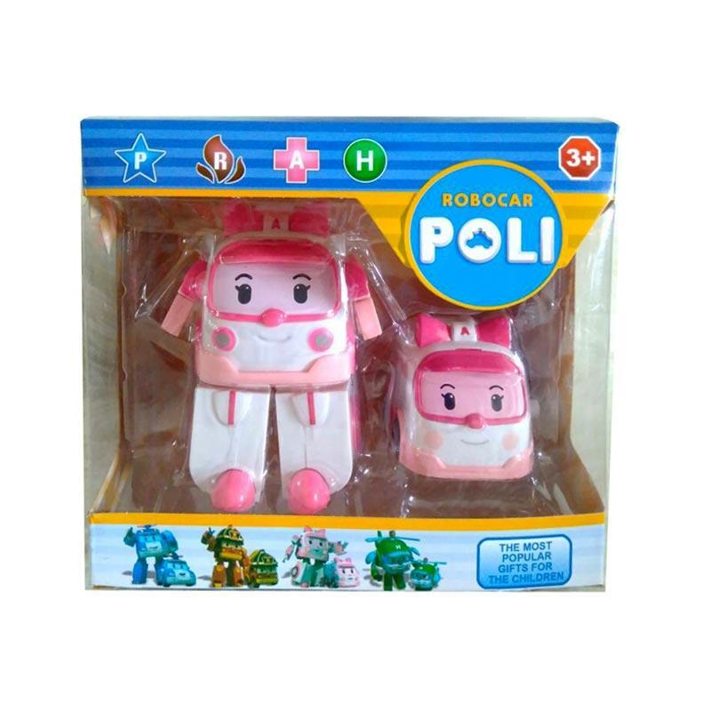 Istana kado IKO00871 Robopoli Robot Poli L Amber Set Mainan Anak