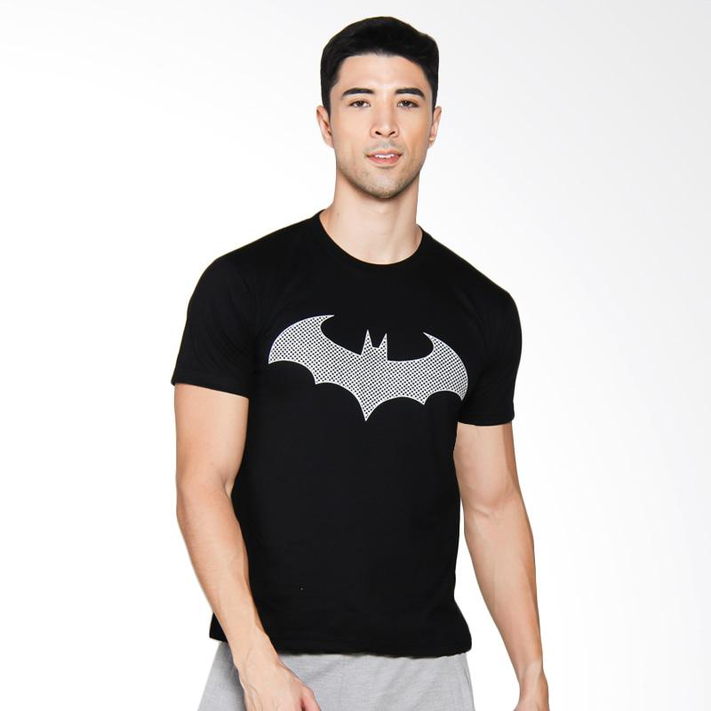 NOG Batman Silver Exclusive T-Shirt Unisex - Black