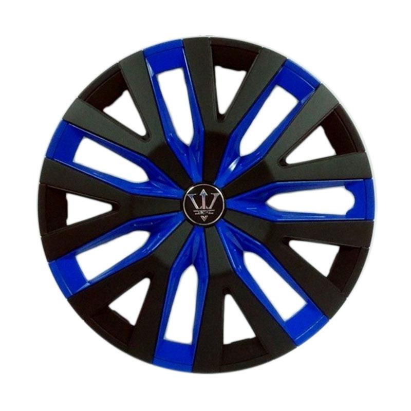 SIV Sport Wheel Cover Evolution Design WD4-1BL-14 Inch Dop Roda Mobil - Black Blue