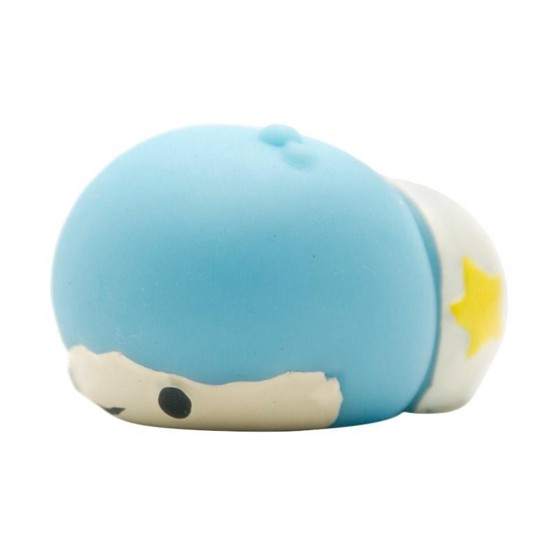HAN Moni Moni Squishy Scented Original Korea My Little Twin Star Kiki Mainan Anak - Blue