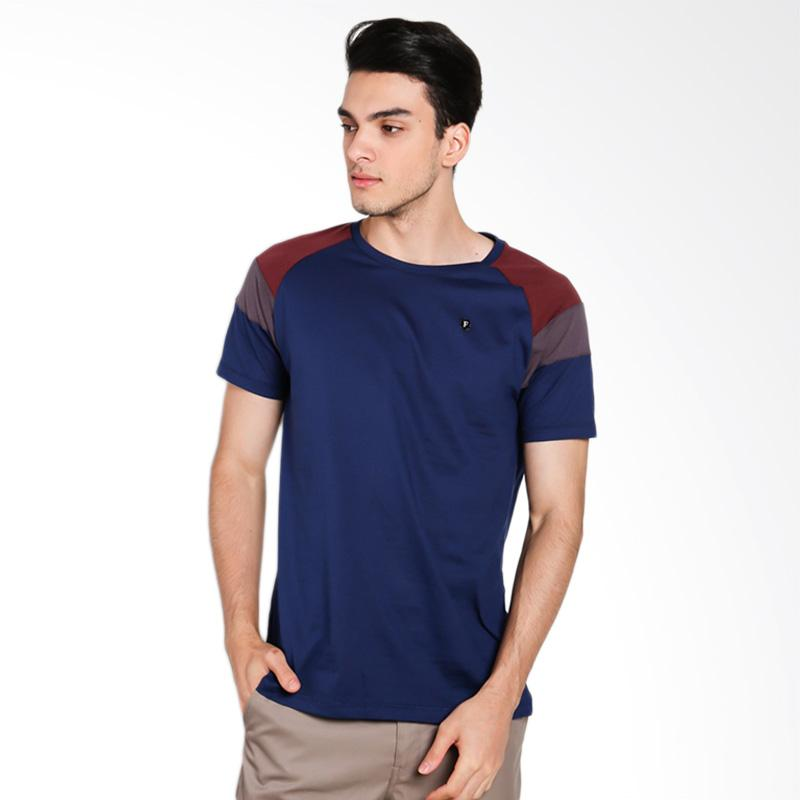 Famo 2712 Men T-shirt - Blue