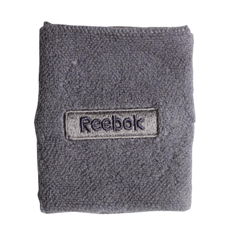 Reebok Embossed Wristband Aksesoris Olahraga Basket - Asteroid Dust/Smokey Black [W6119]