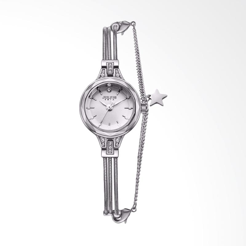Julius JA-918-A Jam Tangan Wanita - Silver