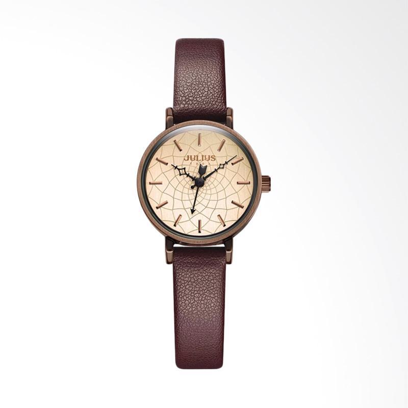 Julius JA-995-D Jam Tangan Wanita - Brown