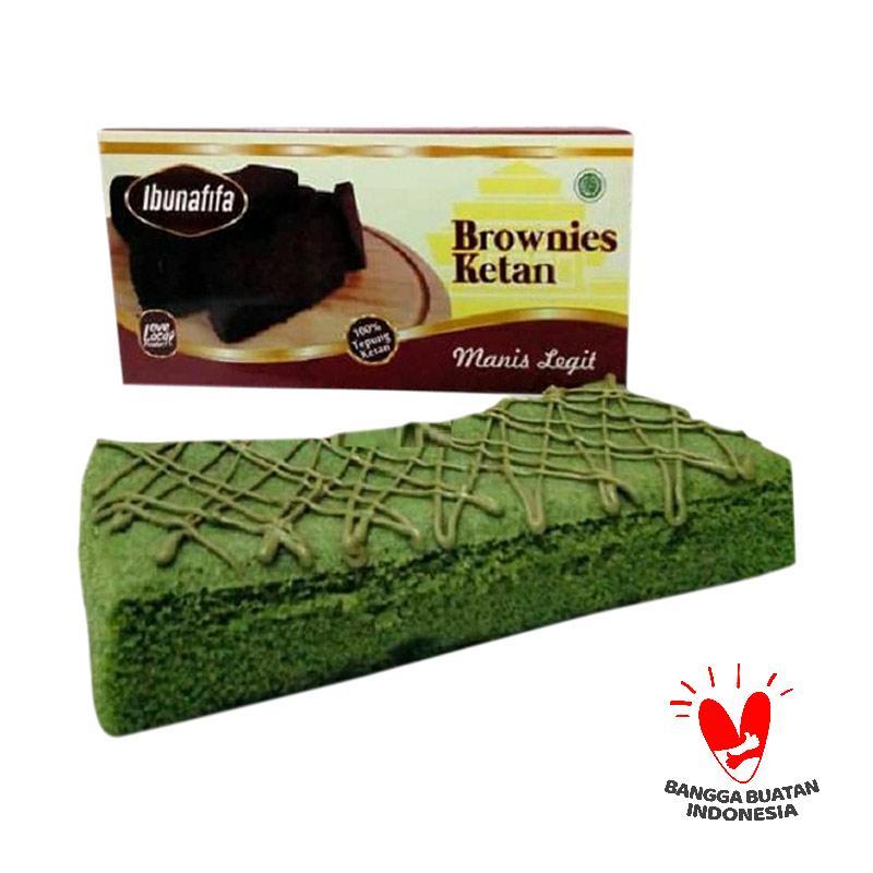 harga Ibunafifa Brownies Kukus Ketan Green Tea Kue Blibli.com