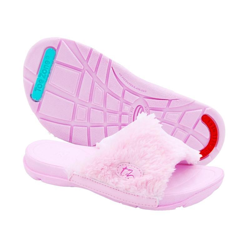 Toezone Kids Nusa Ch Fur Sandal Anak - Pink