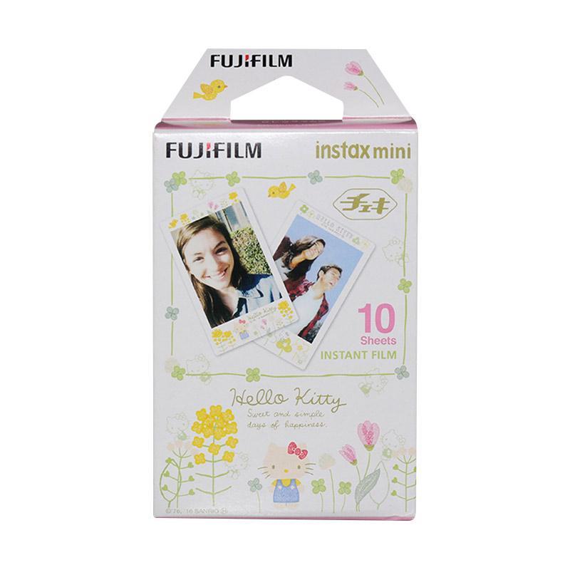 Fujifilm Hello Kitty Lovely Flower Refill Instax Mini Film [10 Lembar]