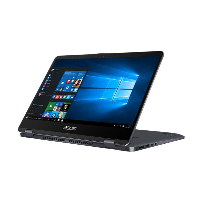 WEB_ASUS VIVOBOOK FLIP 12 TP203NAH-BP101T Notebook - Grey [DualCore N3350/4 GB/500 GB/11.6