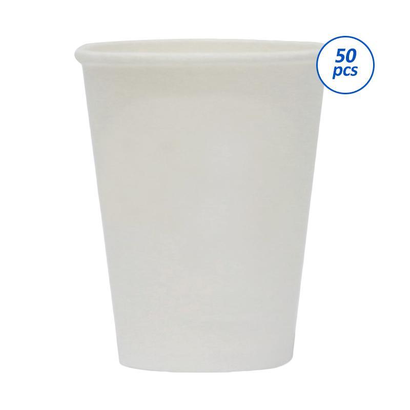 Avani White Paper Coffee Cup [12 oz/ 50 Pcs]