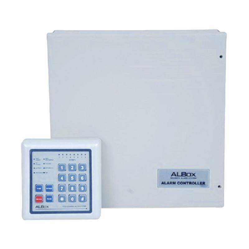 ALBOX ACP811A 8-Zone Alarm Control Panel With Keypad RCK800 Perangkat Keamanan