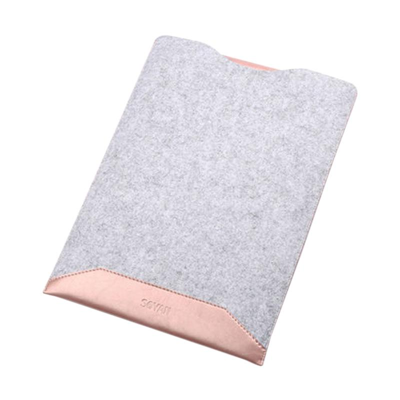 New Microfiber Sofcase Sleeve Case for Macbook Pro Retina - Pink [15.4 Inch]