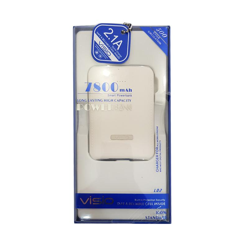 VISIO Smart Powerbank - White [7800mAh]