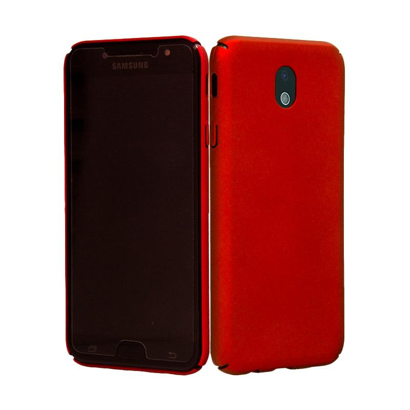 OEM BABY Skin Ultra Thin Hardcase Casing for Samsung J5 Pro - Red