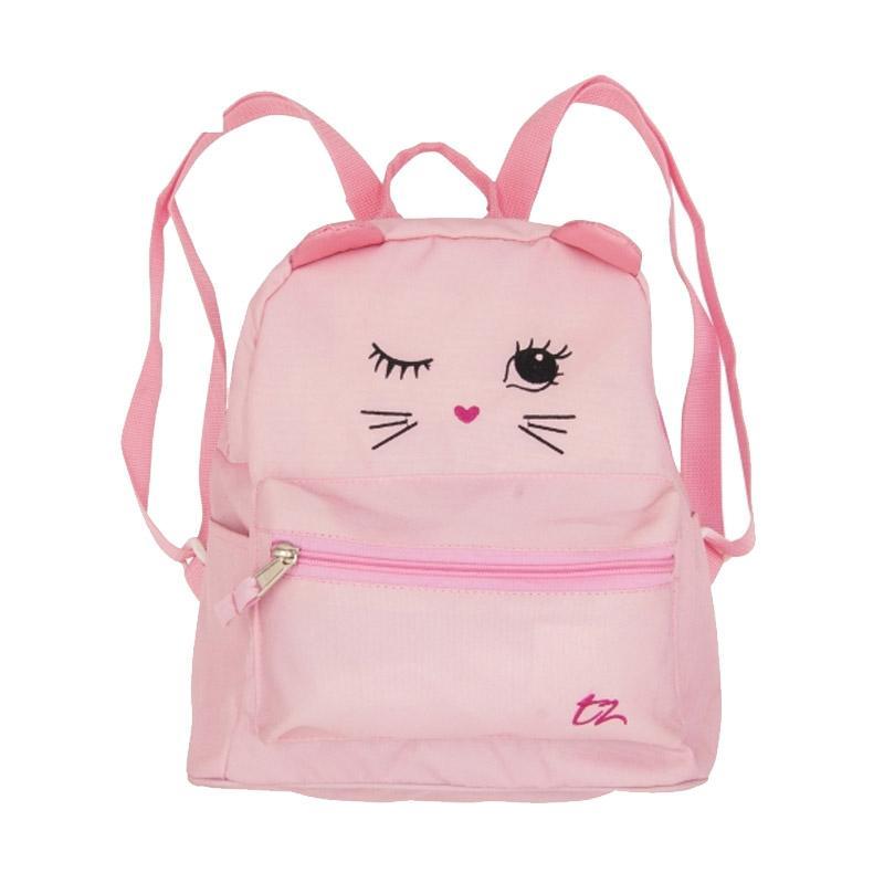 ToeZone Kids Kitty Mini Backpack Anak - Pink
