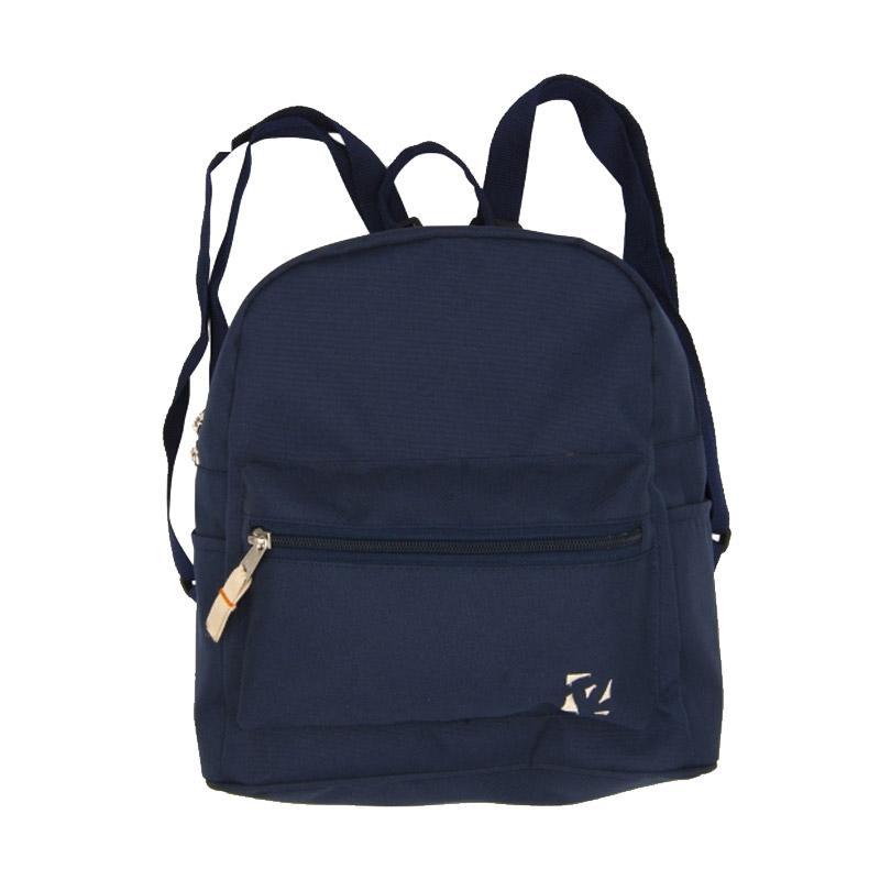 ToeZone Kids Mini Backpack Tas Sekolah - Navy