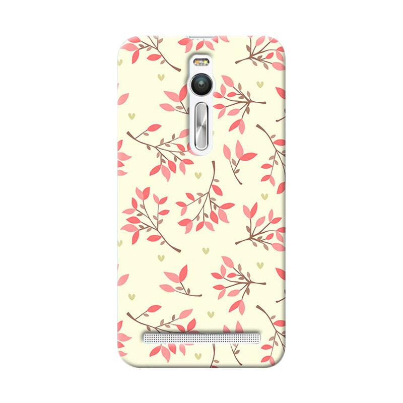 Premiumcaseid Cute Floral Seamless Shabby Hardcase Casing for Asus Zenfone 2