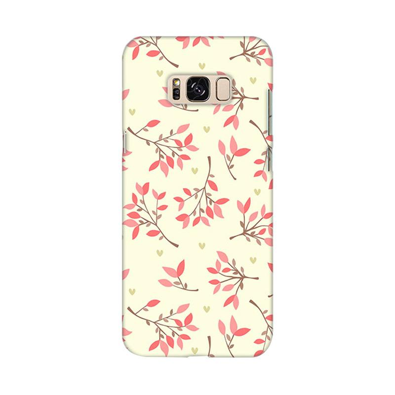 Premiumcaseid Cute Floral Seamless Shabby Hardcase Casing for Samsung Galaxy S8 Plus