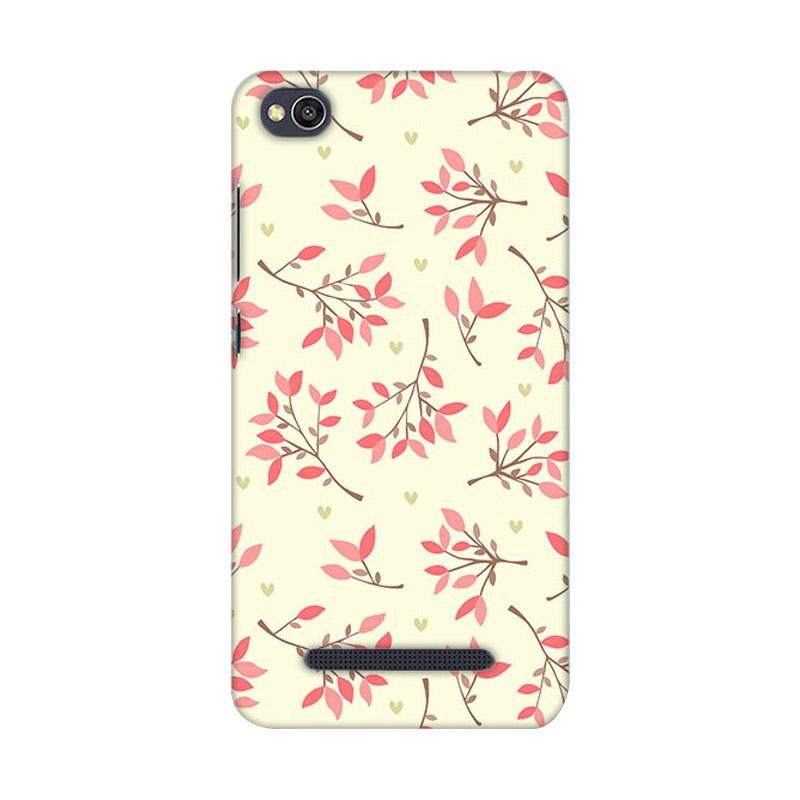Premiumcaseid Cute Floral Seamless Shabby Cover Hardcase Casing for Xiaomi Redmi 4A