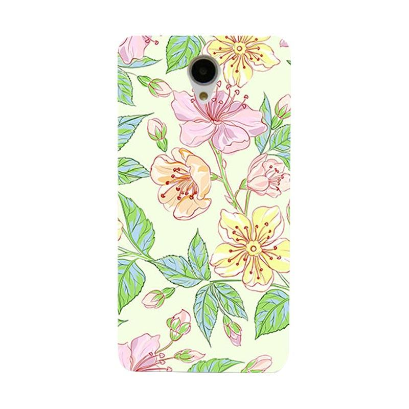 Premiumcaseid Beautiful Flower Wallpaper Cover Hardcase Casing for Xiaomi Redmi Note 2
