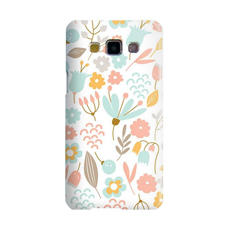 Premiumcaseid Cute Pastel Shabby Chic Floral Hardcase Casing for Samsung Galaxy A3