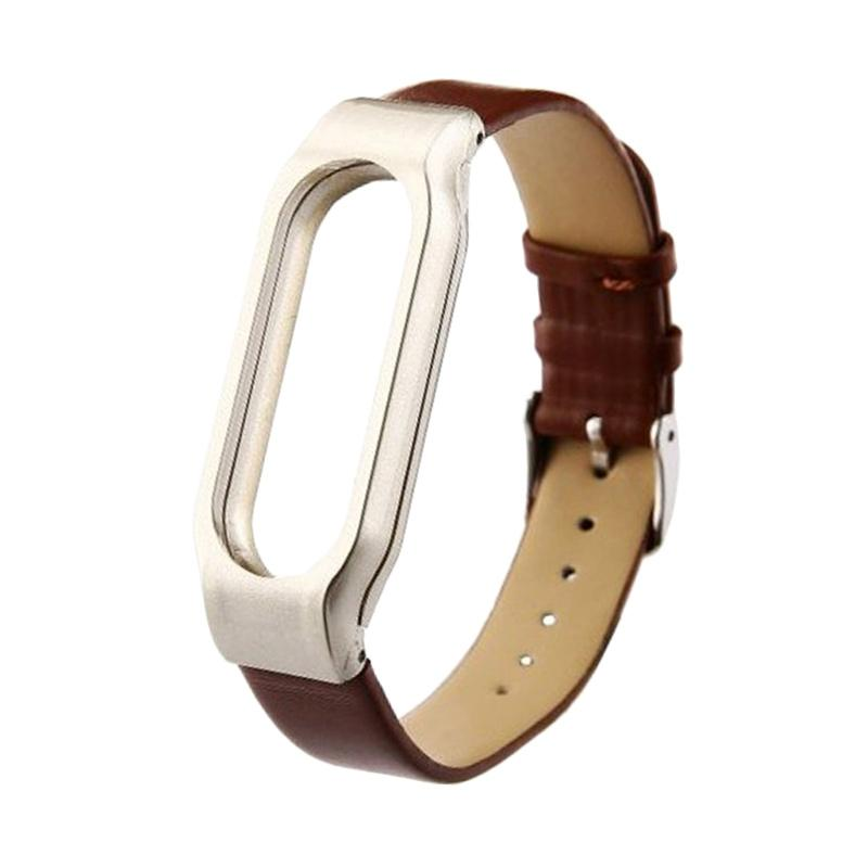 Leather Strap for Xiaomi Miband 2